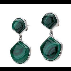 Pangea Mines Malachite Earrings MSRP $499.99